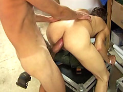 Hot twink with a huge cock fuck bareback an other sexy twink