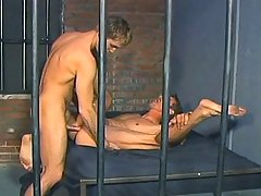 Hot Dilf get his tight ass fucked by that hot guy in jail