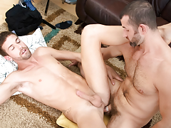 CJ's massive cock is a bargain deal that Jake can't pass up!