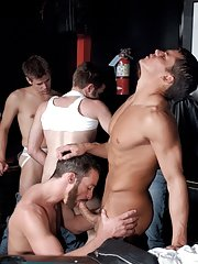 Colby Taylor::Tony Bishop::Justin Gemineye::Blu Kennedy::Jason Spear::Roman Heart::Troy Apollo in Gay XXX Pictures