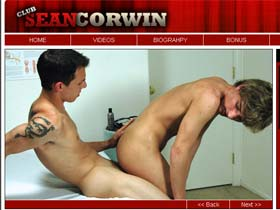Welcome to Club Sean Corwin - hot gay boys suck cocks and fuck tight assholes!