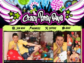 Welcome to Crazy Party Boys - young gays swollen cocks and fuck in tight holes!