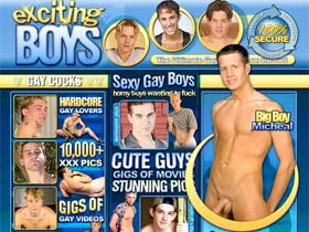 Welcome to Exciting Boys - amateur twinks play in gay videos and stunning pics!